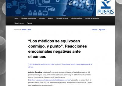 Artículo para Pueris - 3.febrero.2014