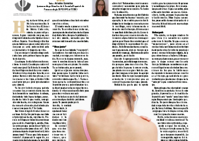 Artículo para el Periodico El Día Por el #DíaMundialContraElCancerDeMama - 19.octubre.2014