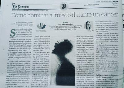 Ariadna Gonzalez psicologa_miedo_periodico el dia